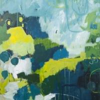 Kate Gorman_A Good soaking - 2016 Acrylic on Linen 101x91