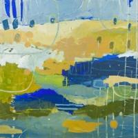 Kate Gorman_A Rainy Day - 2016 Acrylic on Linen 102x102