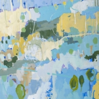 Kate Gorman_Floodplain - 2016 Acrylic on Linen 122x101