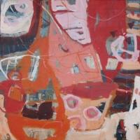 'Isola Dei Pescatori Delights' 2015 acrylic on canvas 50cm x 50cm-min