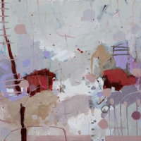 Kate Gorman_A Fresh Morning_2017_Acrylic on Linen_52x52cm