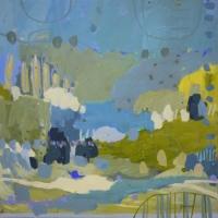 Kate-Gorman-Gentle-flow-2019-Acrylic-on-linen-76x76