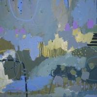 Kate-Gorman-Mist-2019-Acrylic-on-linen-76x76