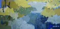 Kate-Gorman-Moonlight-over-the-water-2019-Acrylic-on-board-59x120
