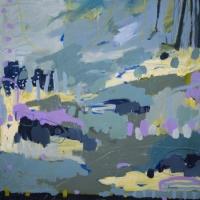 Kate-Gorman-Night-reflections-2019-Acrylic-on-linen-76x76